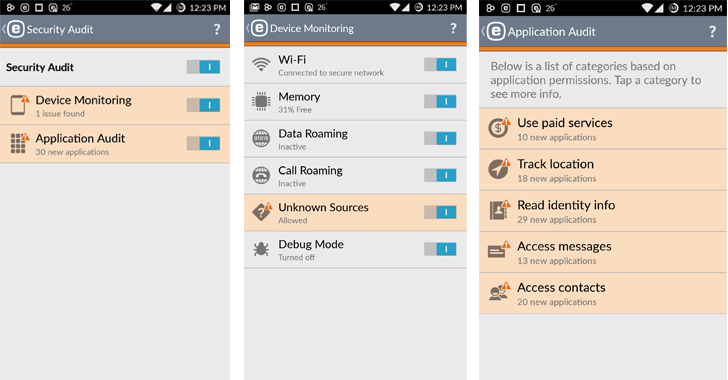 android-security-app
