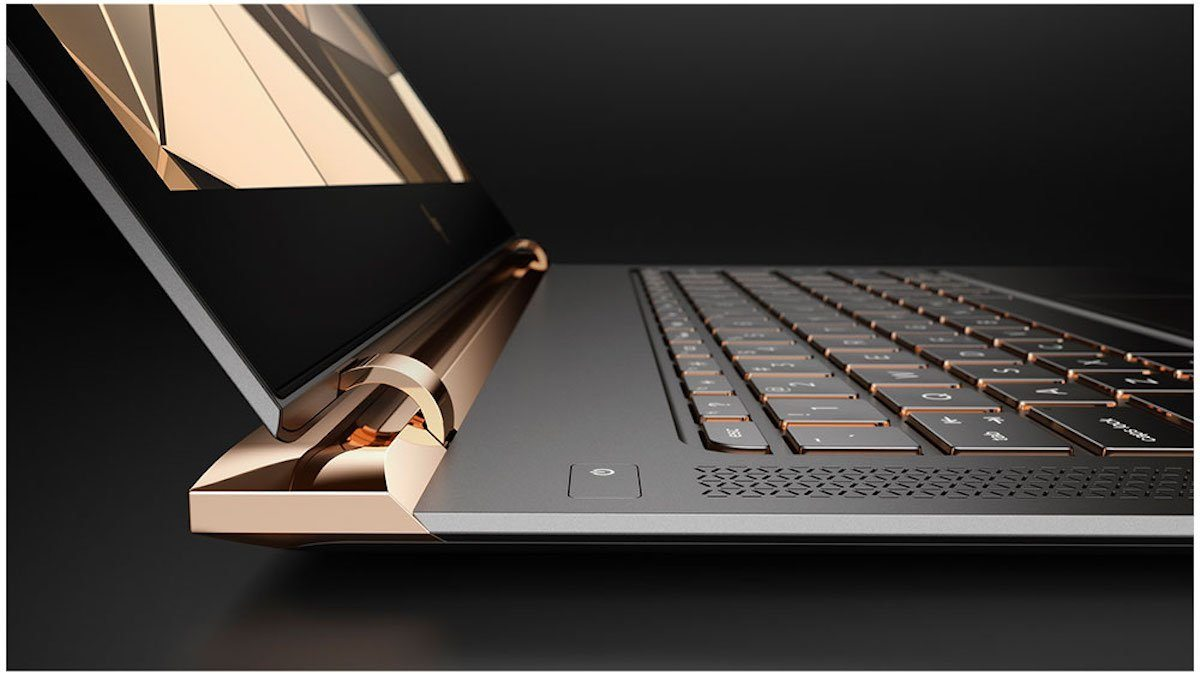"""So far, it only comes in the copper/gold color option. HP says it uses the color scheme for """"warmth"""" and to make it feel like a piece of jewelry."""