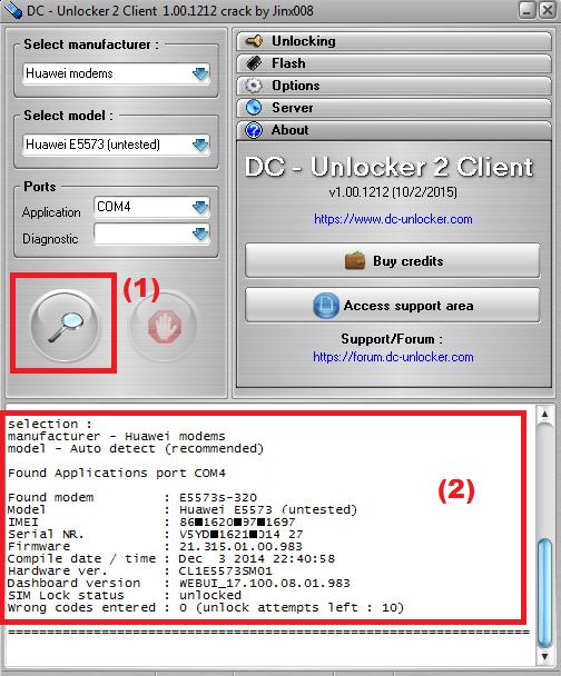 huawei-e5573s-complete-information-in-dc-unlocker