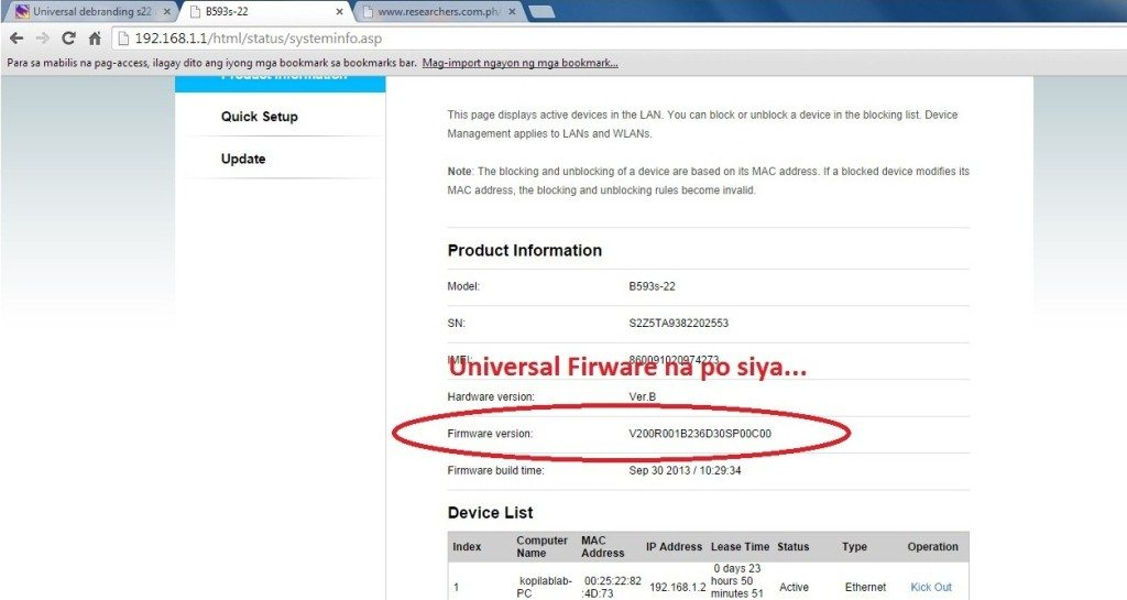 Huawei B593 Lte Cpe 4g Router unbranding sucess