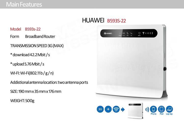 Huawei B593 Lte Cpe 4g Router