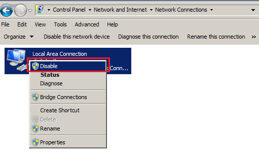 Disable lan of B310s-927