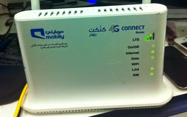 How to Unlock Mobily Broadband@Work QDC 4G LTE Router News