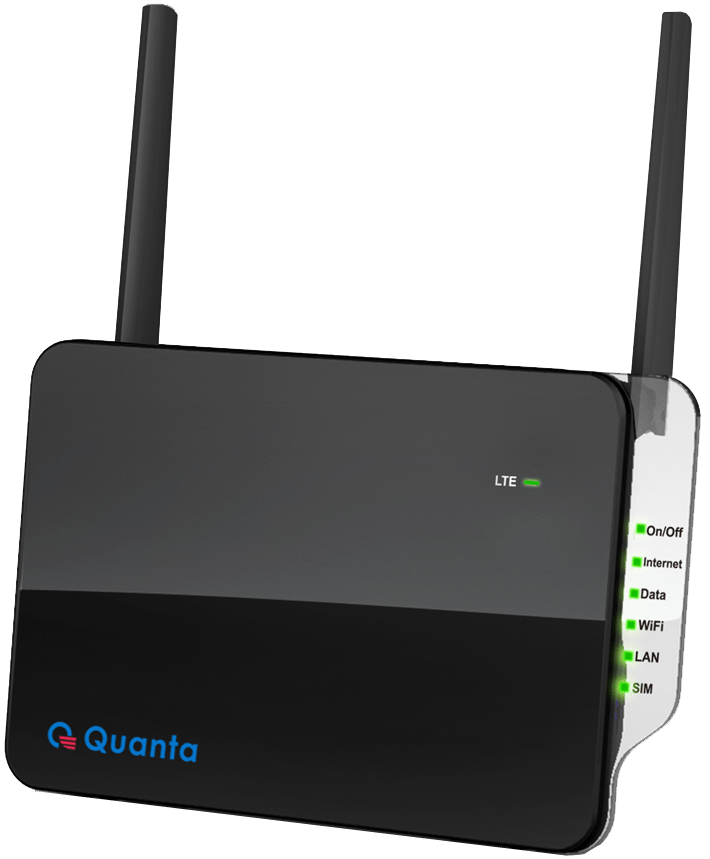 QDC 4G LTE Router Black